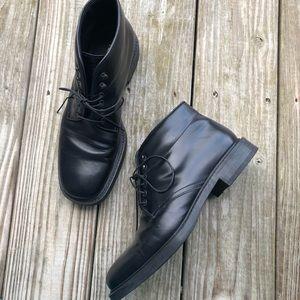 Men's PRADA leather dress shoes